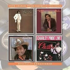 CHARLEY PRIDE-YOU'RE MY JAMAICA/ROLL ON MISSISSIPPI/CHARLEY PRIDE LIVE/ 2CD NEU