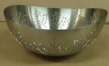Laserforme Stainless Steel 18/8 Bowl Maple Leaf desing