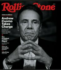 ANDREW CUOMO - ROLLING STONE MAGAZINE- MAY 2020 BRAND NEW