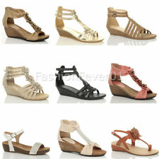 Unbranded Ankle Straps Wedge Sandals & Beach Shoes for Women
