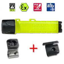 Helmlampe PX 1 LED + Aufnahme + Helmhalter - Feuerwehr EX-Schutz - Fire Edition
