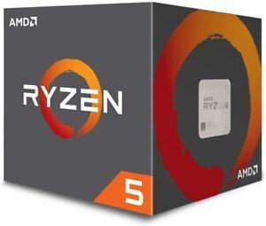 AMD YD2600BBAFBOX Ryzen 5 2600 Processor with Wraith Stealth Cooler , Black