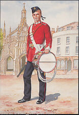 Military Postcard - Drummer, 107th Bengal Infantry Regiment, 1879 - H295