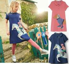Mini Boden Polo applique dress pink sausage dog navy blue horse ages 3 - 12 NEW