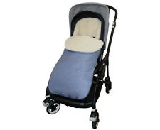 Blue Jeans GOOSEBERRY FOOTMUFF PRAM SEAT LINER COSYTOES Lambs Wool Universal fit