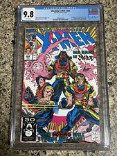 Uncanny X-Men 282 CGC 9.8 1st appearance of Bishop! Perfect Wrap! White Pages
