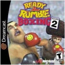 READY 2 RUMBLE ROUND 2 SEGA DREAMCAST GAME *NEW* AUS EXPRESS