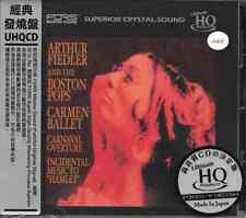 Arthur Fiedler Carmen Ballet Carnaval Overture Incidental Music to Hamlet UHQ CD