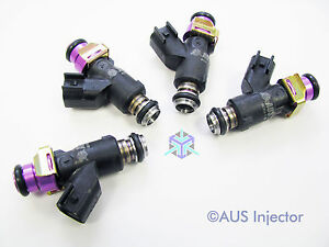 Set of 4 AUS Injectors 380 cc 36 Lb HIGH FLOW A4, TT & GOLF GTI 2000-2006 [E4-E]