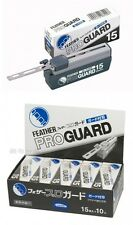 FEATHER PRO GUARD 15 10set PG-15 Replacement blade for artist club Made in Japan