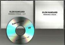 GLEN HANSARD Winning Streak 2015 TST PROMO DJ CD single Swell Season THE FRAMES