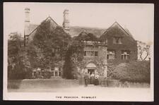 Rp Postcard Rowsley England Peacock Estate 1910's