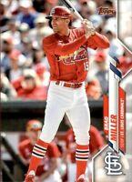 2020 Topps Update Brad Miller Base #53 - St. Louis Cardinals