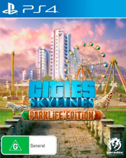 Cities Skylines Parklife Edition PS4 Game NEW