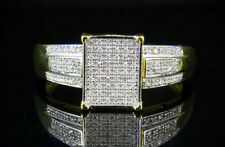 Not Enhanced Sterling Silver Good Fine Diamond Rings