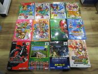Nintendo 64 Lot of 12 piece Banjo-Kazooie Star Wars Complete N64 Japan T957