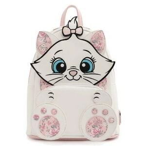 Disney Aristocats Marie Floral Footsy Cosplay Mini Backpack