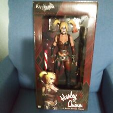"NECA Harley Quinn Batman Arkham City 18"" inch 1/4 Scale Action Figure, NIB"