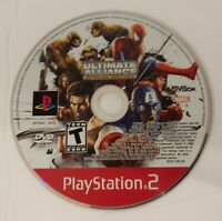 Sony PlayStation 2 PS2 Disc Only Marvel Ultimate Alliance - Special Edition