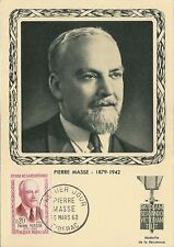 CP MAXIMUM PREMIER JOUR PIERRE MASSE 1960