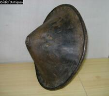 18C. AUTHENTIC AFRICAN  ETHIOPIAN LEATHER SHIELD V.RARE