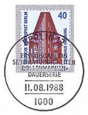 Berlin 1988: Chilehaus in Hamburg! SWK Nr. 816 mit Ersttags-Sonderstempel! 1A!