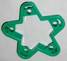 "Green 4"" Star Cookie Cutter Art Mold with Holes"