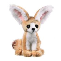 Fennec Fox Plush Toy 8 Inch Realistic Details Stuffed Animal Gift for Kids