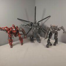 Transformers Lot Of 3 Leader voyager Studio Grinder Last knight Megatron PARTS!