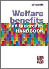 Welfare Benefits and Tax Credits Handbook 2015/16, Child Poverty Action Group, V