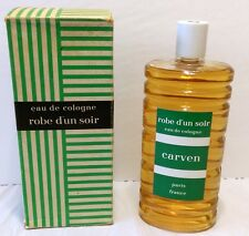 Vintage Robe D'Un Soir Eau De Cologne Splash 16.0 fl. oz. By Carven Paris France