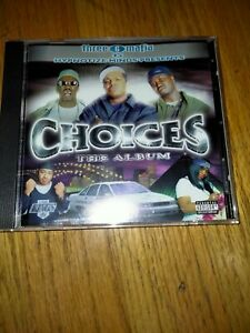Three 6 Mafia Presents Choices The Soundtrack Project Pat Memphis Rap Cd