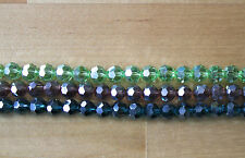Crystal & Cut Glass Jewellery Making Round Craft Beads