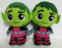 """7.5"""" DC FUNKO BEAST BOY PLUSH LOT OF TWO / BOTH USED BUT GOOD CONDITION"""
