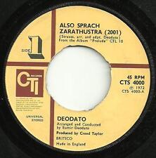 DEODATO - ALSO SPRACH ZARATHUSTRA(2001) CTI 1972 JAZZ-FUNK STRAUSS ORCHESTRATION