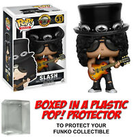 Funko POP! Rocks ~ SLASH VINYL FIGURE w/Protector Case ~ Rock Stars
