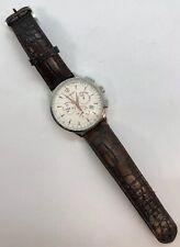 Movado Circa 35.1.14.1184 42mm Case Tachymeter Chronograph White Face WristWatch