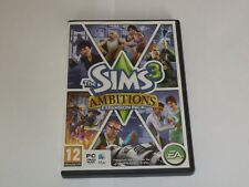 The Sims 3 Ambitions expansion pack english version PC DVD Mac