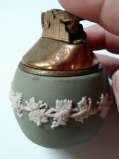 Vintage Wedgwood Made in England Green Ivy Relief Lighter