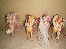 Enchanted Kingdom Horses - Spring Bride and Aloha