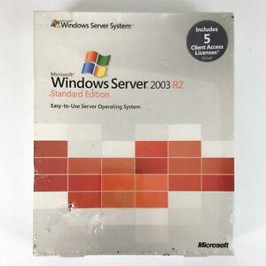 Microsoft Windows Server 2003 R2 Standard English CD 5 Clt Part No X11-90313 #2