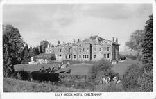 uk17735 lilly brook hotel  cheltenham real photo uk