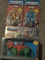 MOTU Masters Of The Universe Origins 2020 Battle Cat He Man Skeletor Bundle