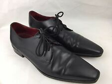 R.M. Williams - Black Leather Dress Shoes - Size 8 - Very Good Condition - RARE