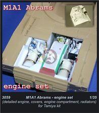CMK 1/35 Honeywell AGT1500 Tank Engine Set for M1A1 Abrams (for Tamiya kit) 3059