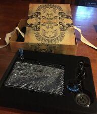 💞Mimco Gift Box Set Key Ring + 15x10 Cm New Mim Pouch Wallet Clatch Handbag Bag