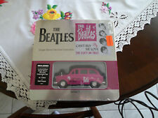 The Beatles Can't Buy Me Love Limited Edition Collectable Taxi Tin W/ Shirt