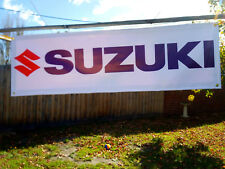 Suzuki PVC Vinyl Banner Flag Poster Sign 1300x400mm Fast Delivery