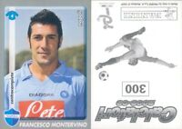 CALCIATORI PANINI 2008-09 -Figurina-sticker N.300-NAPOLI-MONTERVINO*NEW