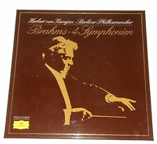 Karajan - 4LP Box - BRAHMS - 4 Symphonies - Deutsche Grammophon 4LP STEREO 2740